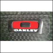 Capa de Banco Oakley 3D
